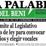 La Palabra del Beni, 21 de Noviembre de 2019