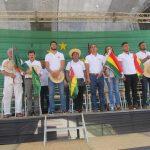 Cívicos rinden homenaje al Beni y entregan reconocimientos
