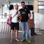 Marco David Vaca está dentro de la preselección de fútbol playa