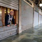 El agua volvió a inundar Venecia