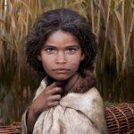 Recrean la imagen de una joven de la edad de piedra