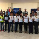 Premian a los ganadores de Olimpiada Científica
