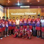 Alcalde 'Suárez' entrega uniforme a Escuela de Fútbol Universitario