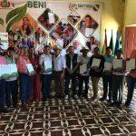El INRA entrega títulos agrarios en Baures