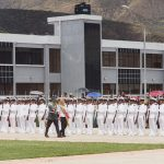La presidente Añez participa en la graduación de sargentos de las FFAA