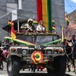 La presidente Añez celebra 209 años del Ejército