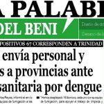 La Palabra del Beni, 24 de Enero de 2020