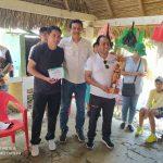 Mutual de Fútbol Trinidad entrega al Ministro de Deportes proyecto de refacción de cancha