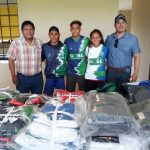 Gobernador Amapo entrega uniformes a selecciones del Beni
