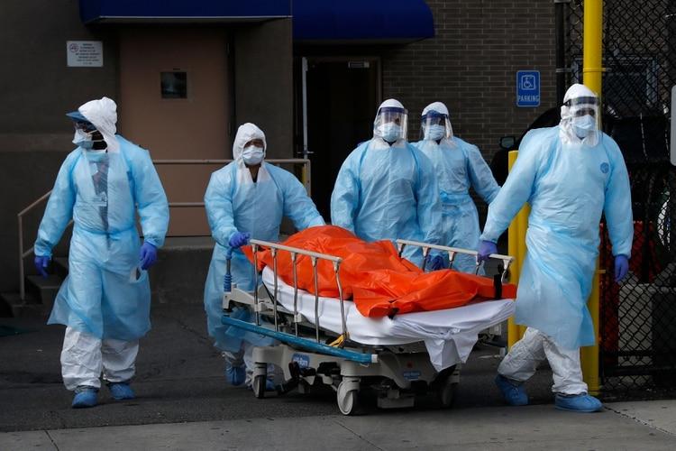 La cifra de contagiados con coronavirus en Nueva York superó los ...