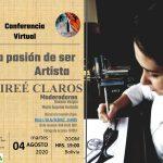 La pasión de ser Artista, conferencia virtual